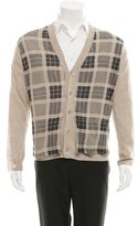 3.1 Phillip Lim Plaid Linen Cardigan