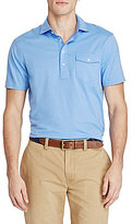 Polo Ralph Lauren Hampton Cotton Lisle Short-Sleeve Solid Polo Shirt