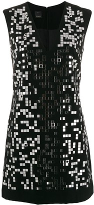 Pinko Mirror Applique Dress