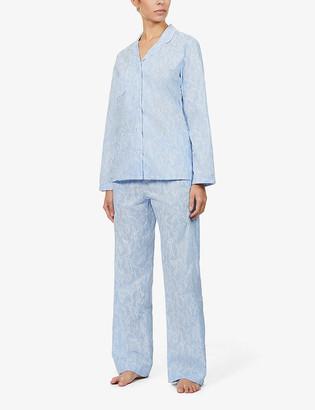 Derek Rose Drose Nelson cotton pyjama set