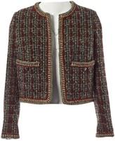 Chanel Burgundy Wool Jacket for Women Vintage