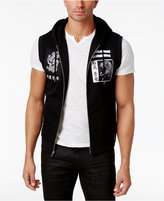 INC International Concepts Men's Hooded Vest, Only at Macy's