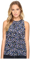 Rebecca Taylor Juliet Fleur Print Tank Top Women's Sleeveless