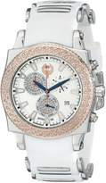 Brillier Men's 01.4.3.4.13.2 Chronograph Method Air Two-Tone Rubber Watch