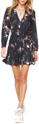 Heartloom Vera Long Sleeve Floral Print Dress