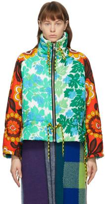 Rave Review Multicolor Liz Duvet Jacket