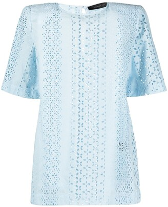 FEDERICA TOSI Embroidered Cotton T-Shirt