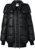 Stella McCartney double zip padded coat