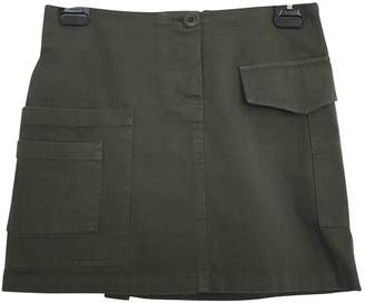 Band Of Outsiders Green Cotton Skirt for Women