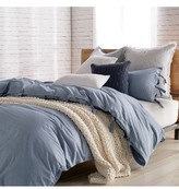 DKNY 144 Thread Count Stripe Duvet Cover