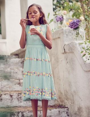 Boden Flower Embroidered Dress