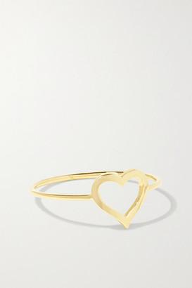 Jennifer Meyer Small Open Heart 18-karat Gold Ring - 3