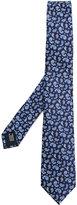 Lanvin floral paisley print tie