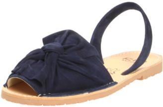 riA Sandal - 39 / dunkel blau / Nubuk Leder