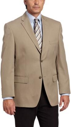 Haggar Men's Herringbone Stripe 2-Button Center Vent Suit Separate Jacket