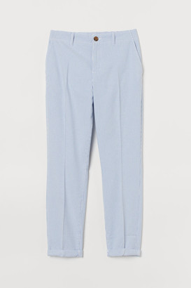 H&M Cotton Chinos - Blue