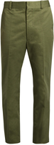 Balenciaga Straight-leg cropped trousers