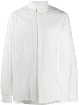 Joe Chia asymmetric hem shirt