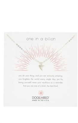Dogeared Sterling Silver One in a Billion Thorn Pendant Necklace