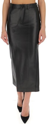 Marni Slit Midi Skirt