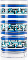 Jonathan Adler Blue Mykonos Acrylic Highball Glass