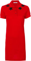 Givenchy star patch polo shirt dress - women - Cotton/Polyester - 36