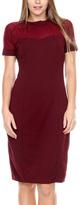Stanzino Merlot Sheath Dress