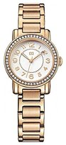 Tommy Hilfiger Women's 1781476 Rose Gold-Plated Stainless Steel Watch with Crystals