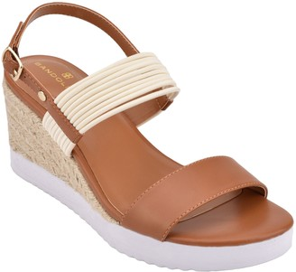 Bandolino Adjustable Espadrille Inspired Sandals - Zane