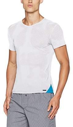 Olaf Benz Men's RED1711 V-Neck reg. Vest, White 1000, Medium