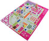 59'' Pink Playhouse 3-D Play Mat
