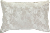 Christy Mosaic Taupe Oxford Pillowcase - Set of 2