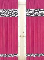 JoJo Designs Sweet Funky Zebra Window Treatment Panels - Set of 2
