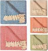 House by Betty 100% Cotton Throw