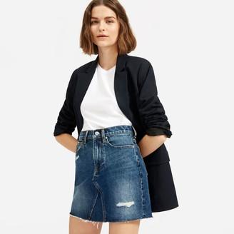 Everlane The Reconstructed Denim Skirt