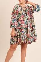 Umgee USA Taupe Plus Dress