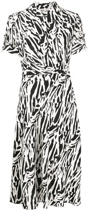 Dvf Diane Von Furstenberg Short Sleeve Shirt Dress