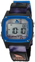 Freestyle 'Shark' Quartz Plastic and Nylon Sport Watch, Color:Grey (Model: 10027042)