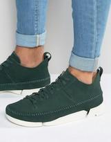 Clarks Trigenic Suede Sneakers