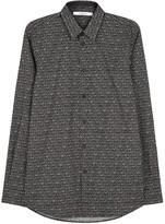 Givenchy Black Star-print Cotton Shirt