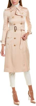 Burberry Satin Trench Coat