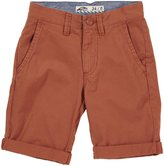 "Vans Excerpt"" Shorts (Kids) - Rust Red-8"
