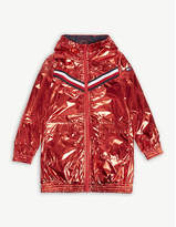 Tommy Hilfiger Metallic hooded jacket 4-16 years
