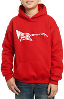 LOS ANGELES POP ART Los Angeles Pop Art Created Of The Words Master Of Puppets Hoodie-Big Kid Boys