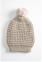 Jocelyn Pom Pom Hat