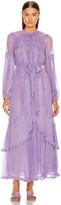Ulla Johnson Sabina Dress in Lavender   FWRD