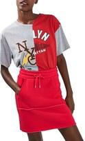 Topshop Women's Sporty Drawstring Miniskirt