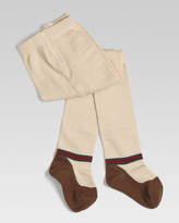 Gucci Baby Dance Tights with Knit Shoe