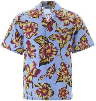 Prada Hawaii Print Shirt