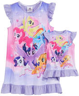 My Little Pony Nightgown with Doll Nightgown, Little & Big Girls